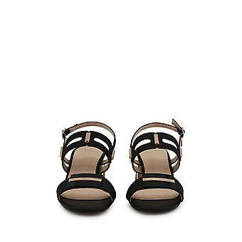 Laura Biagiotti - Schuhe - Sandalette - 6151_SATIN_BLACK - Damen - Schwartz - 38