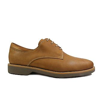 Anatomic Delta Tan Waxy Leather Mens Lace Up Shoes