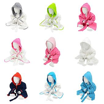 A&R Towels Baby/Toddler Babiezz Hooded Bathrobe