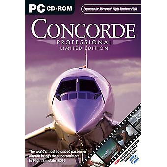 Concorde Professional - Limited Edition Add-On para FS 2004 (PC CD) - Novo