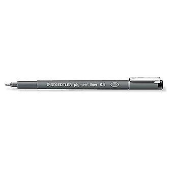 Staedtler pigment liner fineliner 0,5 mm black 308 05-9