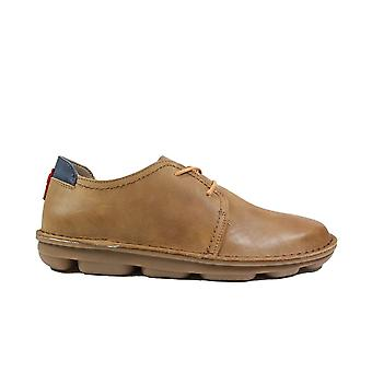 On Foot Blucher 7000 Brown Leather Mens Lace Up Shoes