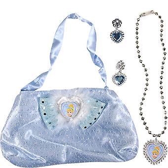Cinderella Girls Bag And Jewellery Set
