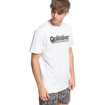 Quiksilver Men's T-Shirt ~ New Slang white