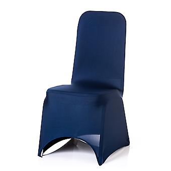 Navy Spandex Chair Cover Lycra cover