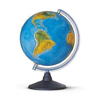 Elite Illuminated World Globe (Physical & Political)