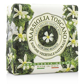 Marsiglia toscano trippel malt vegetal såpe muschio bianco 200062 200g/7oz