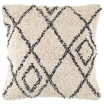 Sass & Belle Berber Style Diamonds Tufted Cushion