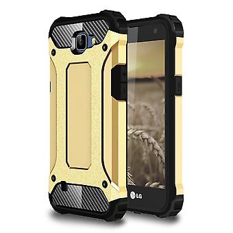 Shell for LG K4 Armor Gold Protection Case Hard