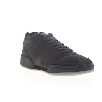 Ellesse Piazza 59 W.W Suede AM  Mens Black Lace Up Low Top Sneakers Shoes