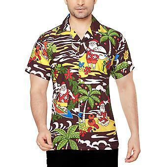 Club cubana men's regular fit classic short sleeve casual shirt ccx24