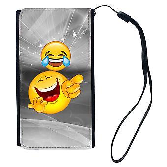 Emoji Lachen Universal Brieftasche