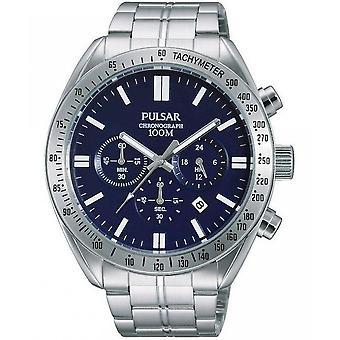 Pulsar klockor mens klocka kronograf PT3607X1