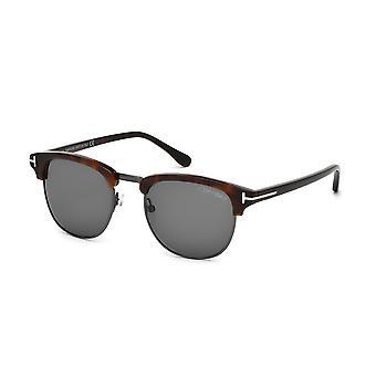 Tom Ford Henry TF248 52A Dark Havana/grijze zonnebrillen
