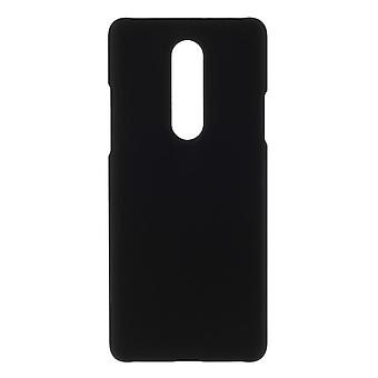 OnePlus 8 Shell Shell plastica gommato - Nero