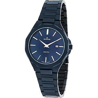 Edox - Wristwatch - Women - 57005 37BUM BUIN - Dolphin