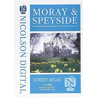Moray & Speyside Street Atlas - 9780993343957 Book