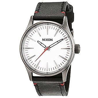 Nixon Unisex quartz Analog läder rem _ A377486