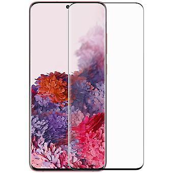 Für Samsung Galaxy S20 Ultra G988F 4D Premium 0,3 mm H9 Hart Glas Schwarz Folie Schutz Hülle Neu