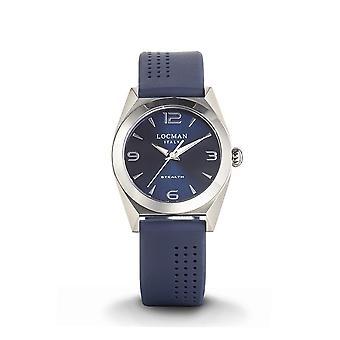 LOCMAN - Wristwatch - Ladies - 0804A02A-00BLNKSB - STEALTH LADY ONLY TIME QUARTZ