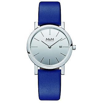 M&M Alemania M11908-642 Reloj de mujer de diseño plano