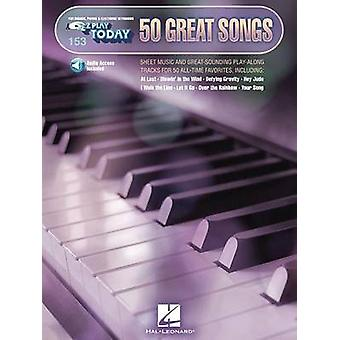 EZ Play Today Volume 153 50 Great Songs BookOnline Audio von Hal Leonard Publishing Corporation