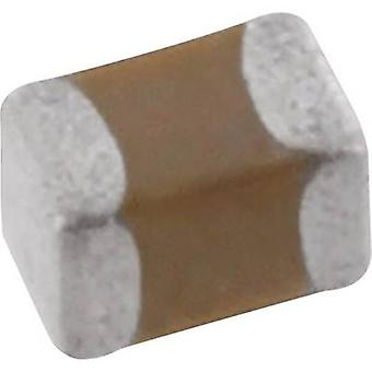 Kemet C0402C121J5GAC7867+ Keramisk kondensator SMD 0402 120 pF 50 V 5 % (L x B x H) 1 x 0,3 x 0,5 mm 1 st tejpsnitt