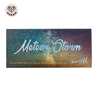 Barry M Meteor Storm Duochrome & Metallic Eyeshadow Palette