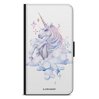Bjornberry Wallet Case iPhone 7 - Watercolor Unicorn