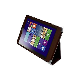 "Magnetic PU Leather Case Cover for Lenovo MiiX 3 7.85"" Tablet[Brown]"