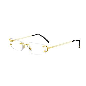 Cartier Piccadily CT0092O 001 Gold Glasses