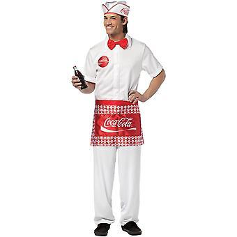 Soda Jerk Adult kostym