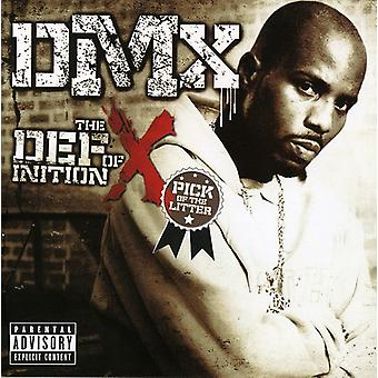 Dmx - Definition of X: Pick of the Litter [CD] USA import