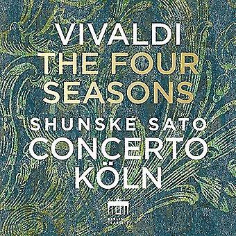 Vivaldi / Sato, Shunske / Concerto Koln - Vivaldi: Four Seasons [CD] USA import
