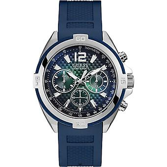Guess W1168G1 Analogue Quartz with Rubber Strap Men's Watch
