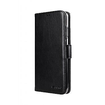 Étui à portefeuille MELKCO pour Samsung Galaxy A41 - Noir