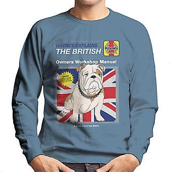 Haynes explica British Bulldog Workshop Manual Men's Sweatshirt