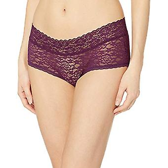 Essentials Femmes's 4-Pack Lace Stretch Hipster Panty, Warm, XXL