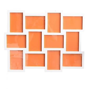 Rebecca huonekalut valokuva haltija runko 12 valokuva 10x15 valkoinen Mdf 47x60x1.2