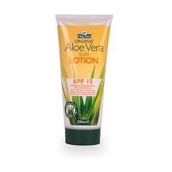 Aloe Vera Spf15 Body Sun Cream 200 ml