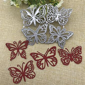 Butterfly Metal Cutting Dies For Diy Scrapbooking Craft- Dekorative Håndverk