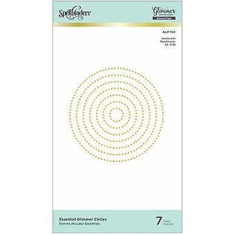 Spellbinders Essential Glimmer Circles Hot Foil Plates