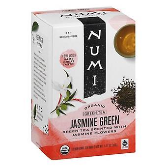 Numi organické čaj jasmine zelený čajové sáčky
