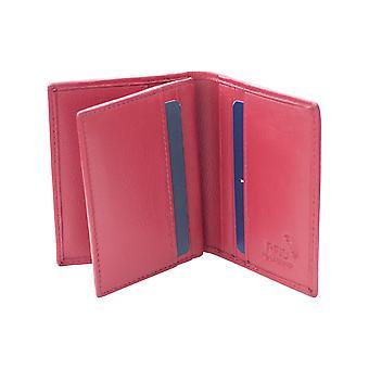 Porte-cartes de crédit en cuir Primehide Portefeuille RFID Blocking Protection 492