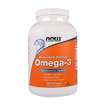 Omega 3 500 vegetable capsules