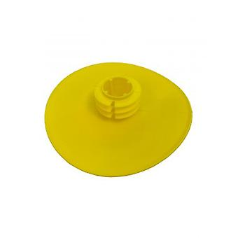 Push In Full Face Flanged End Cap / Protector For 50nb (60.3 Mm Od) Pipe