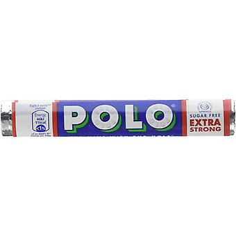 NESTLE POLO Mints Box of 32 Rolls of 34g Tubes (Extra Strong Sugar Free)