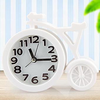 Creative portable mini mute children student clock bike office table alarm clocks home decor
