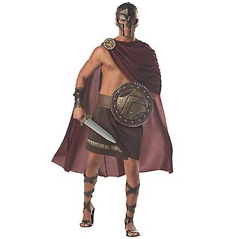 Spartan Warrior Roman Greek Soldier Gladiator Hercules Medieval Mens Costume