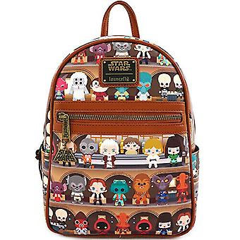 Loungefly X Star Wars Cantina Mini Rugzak-chewbacca Solo Luke Skywalker